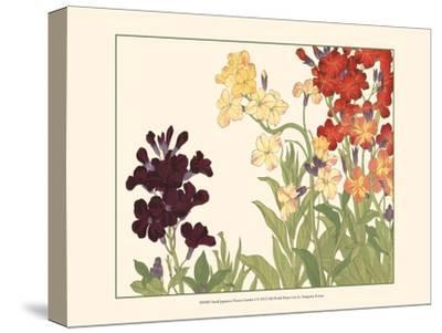 Small Japanese Flower Garden I-Konan Tanigami-Stretched Canvas Print