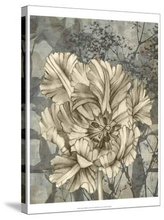 Tulip and Wildflowers IX-Jennifer Goldberger-Stretched Canvas Print