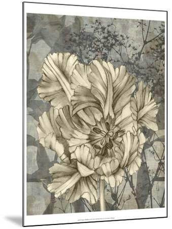 Tulip and Wildflowers IX-Jennifer Goldberger-Mounted Art Print