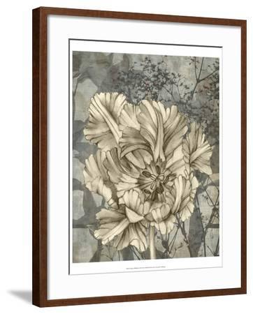 Tulip and Wildflowers IX-Jennifer Goldberger-Framed Art Print