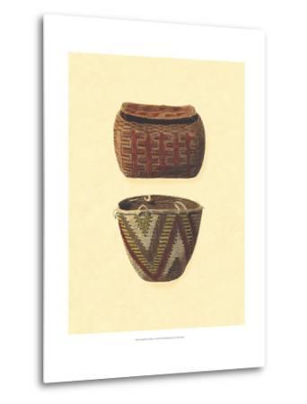 Hand Woven Baskets I-Vision Studio-Metal Print