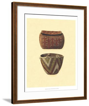 Hand Woven Baskets I-Vision Studio-Framed Art Print