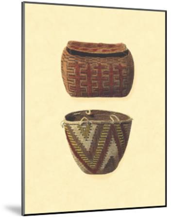 Hand Woven Baskets I-Vision Studio-Mounted Art Print