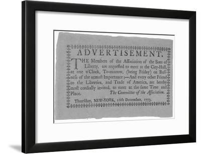 The American Revolution--Framed Photo