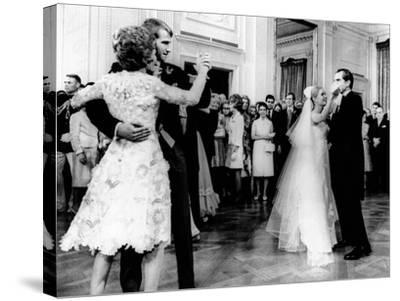 Nixon-Cox White House Wedding Reception--Stretched Canvas Print