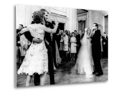 Nixon-Cox White House Wedding Reception--Metal Print