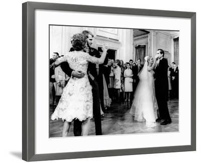 Nixon-Cox White House Wedding Reception--Framed Photo