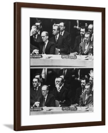 The 1956 Suez Crisis Strains Anglo-American Relations--Framed Photo