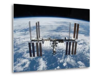 International Space Station in 2009--Metal Print