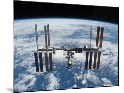 International Space Station in 2009--Mounted Photo