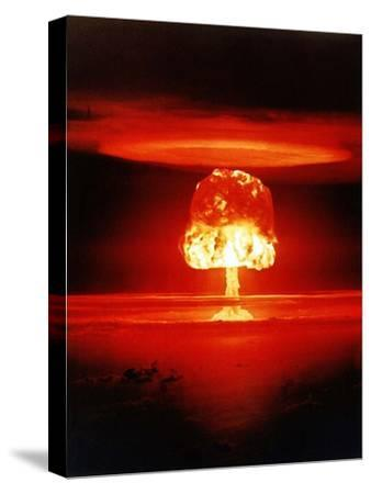 The Romero Shot, Was a Hydrogen Bomb That Yielded 11 Megatons of Energy--Stretched Canvas Print
