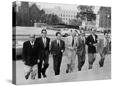 Hollywood Writers Go on Trial--Stretched Canvas Print