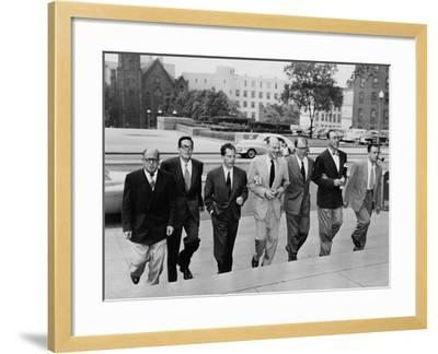 Hollywood Writers Go on Trial--Framed Photo