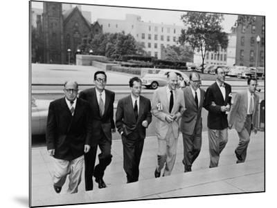 Hollywood Writers Go on Trial--Mounted Photo