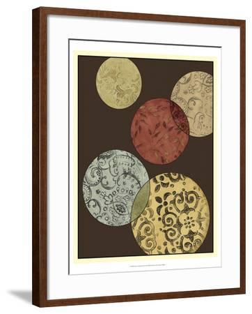 Pattern Composition II-Megan Meagher-Framed Art Print