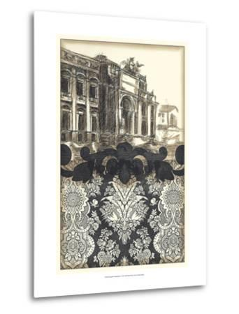 Damask Composition I-Ethan Harper-Metal Print