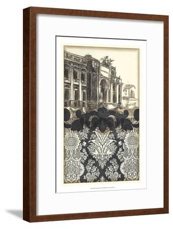Damask Composition I-Ethan Harper-Framed Art Print