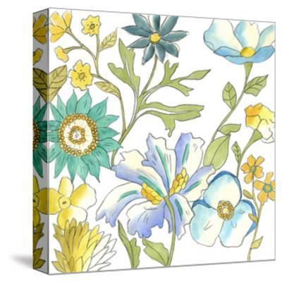 Bouquet Garden III-Chariklia Zarris-Stretched Canvas Print