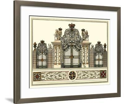 The Grand Garden Gate I-O^ Kleiner-Framed Art Print