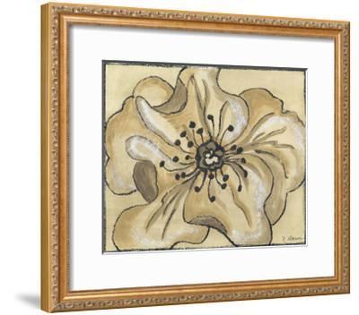 Tone on Tone Petals IV-Slocum Nancy-Framed Art Print