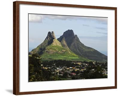 Houses, Floreal, Mauritius-Anthony Asael-Framed Photographic Print