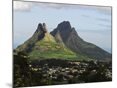 Houses, Floreal, Mauritius-Anthony Asael-Mounted Photographic Print