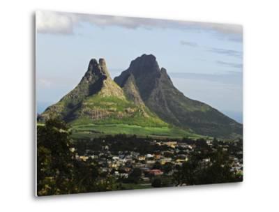 Houses, Floreal, Mauritius-Anthony Asael-Metal Print