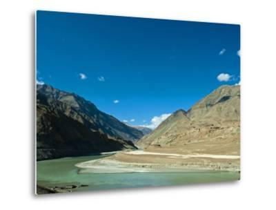 Landscape, Markha Valley, Ladakh, India-Anthony Asael-Metal Print