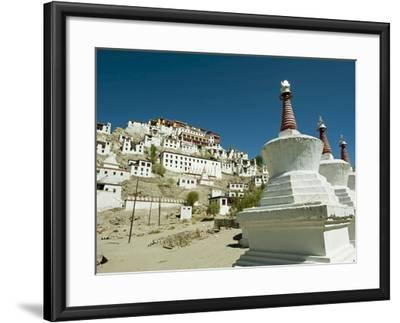 Thiksey Monastery, Thiksey, Ladakh, India-Anthony Asael-Framed Photographic Print