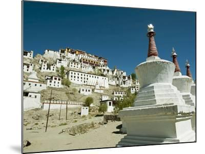 Thiksey Monastery, Thiksey, Ladakh, India-Anthony Asael-Mounted Photographic Print