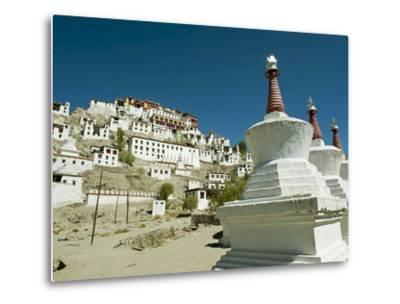 Thiksey Monastery, Thiksey, Ladakh, India-Anthony Asael-Metal Print
