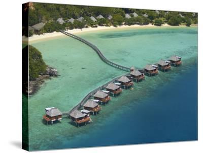 Likuliku Lagoon Resort, Malolo Island, Mamanuca Islands, Fiji-David Wall-Stretched Canvas Print