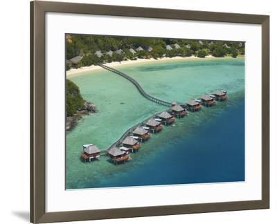 Likuliku Lagoon Resort, Malolo Island, Mamanuca Islands, Fiji-David Wall-Framed Photographic Print