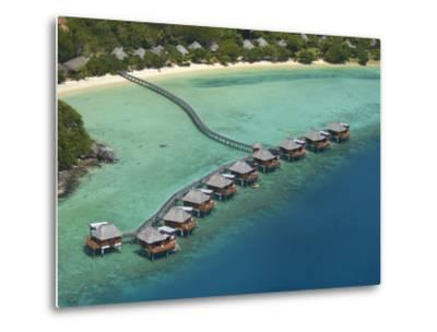 Likuliku Lagoon Resort, Malolo Island, Mamanuca Islands, Fiji-David Wall-Metal Print
