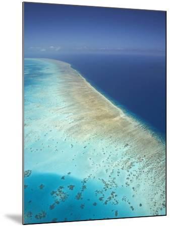 Arlington Reef, Great Barrier Reef Marine Park, North Queensland, Australia-David Wall-Mounted Photographic Print