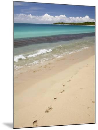 Footprints in Sand on Natadola Beach, Coral Coast, Viti Levu, Fiji, South Pacific-David Wall-Mounted Photographic Print