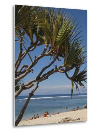 Beach, St. Pierre, Reunion Island, French Overseas Territory-Cindy Miller Hopkins-Metal Print