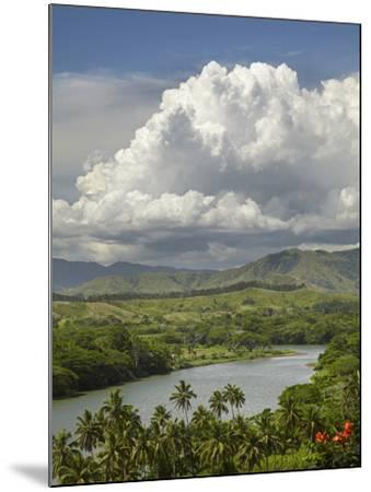 Sigatoka River, Lower Sigatoka Valley, Coral Coast, Viti Levu, Fiji, South Pacific-David Wall-Mounted Photographic Print
