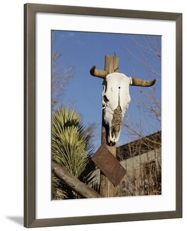 Route 66, Hackberry, Arizona, USA-Julian McRoberts-Framed Photographic Print