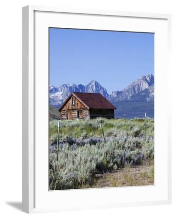 Old Barn, Sawtooth National Recreation Area, Idaho, USA-Jamie & Judy Wild-Framed Photographic Print