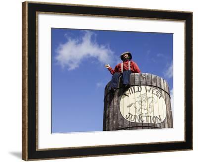 Route 66, Williams, Arizona, USA-Julian McRoberts-Framed Photographic Print