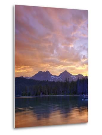 Redfish Lake, Sawtooth National Recreation Area, Idaho, USA-Jamie & Judy Wild-Metal Print