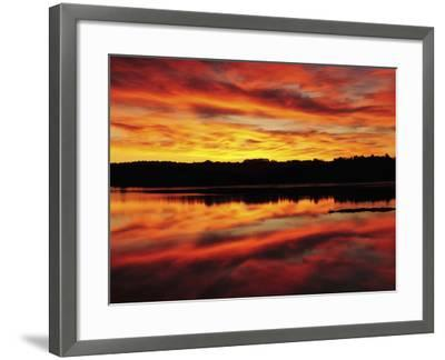 Sunrise on the New Meadows River, Brunswick, Maine, USA-Michel Hersen-Framed Photographic Print