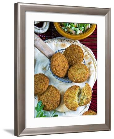 Falafel, Chickpeas Croquettes, Arabic Countries, Arabic Cooking-Nico Tondini-Framed Photographic Print