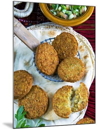 Falafel, Chickpeas Croquettes, Arabic Countries, Arabic Cooking-Nico Tondini-Mounted Photographic Print