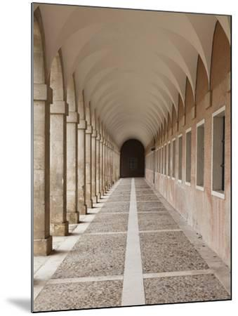 Arched Walkway, the Royal Palace, Aranjuez, Spain-Walter Bibikow-Mounted Photographic Print