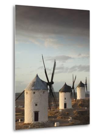 La Mancha Windmills, Consuegra, Castile-La Mancha Region, Spain-Walter Bibikow-Metal Print