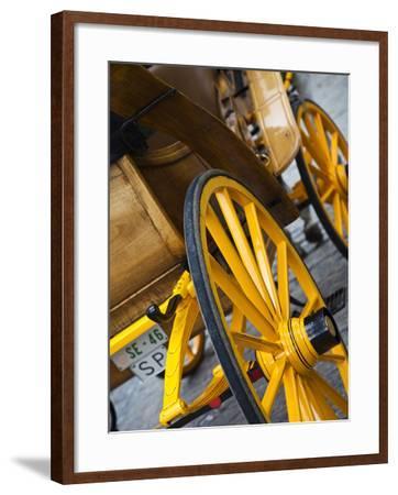 Plaza Del Triunfo, Seville, Spain-Walter Bibikow-Framed Photographic Print