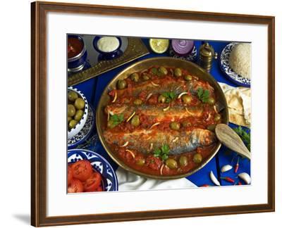 Fish Egyptian-Style, Egypt-Nico Tondini-Framed Photographic Print