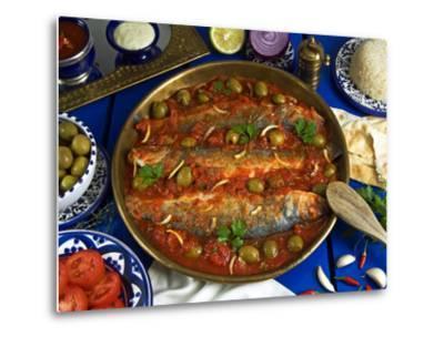 Fish Egyptian-Style, Egypt-Nico Tondini-Metal Print